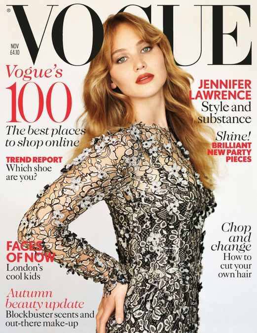 British Vogue Cover November 2012
