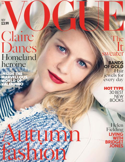 British Vogue Cover November 2013