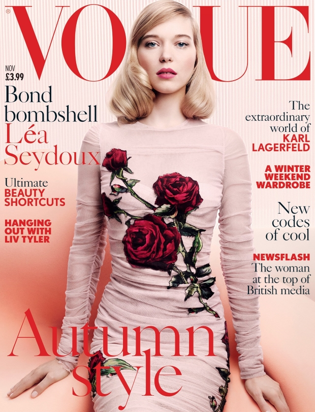 British Vogue Cover November 2015