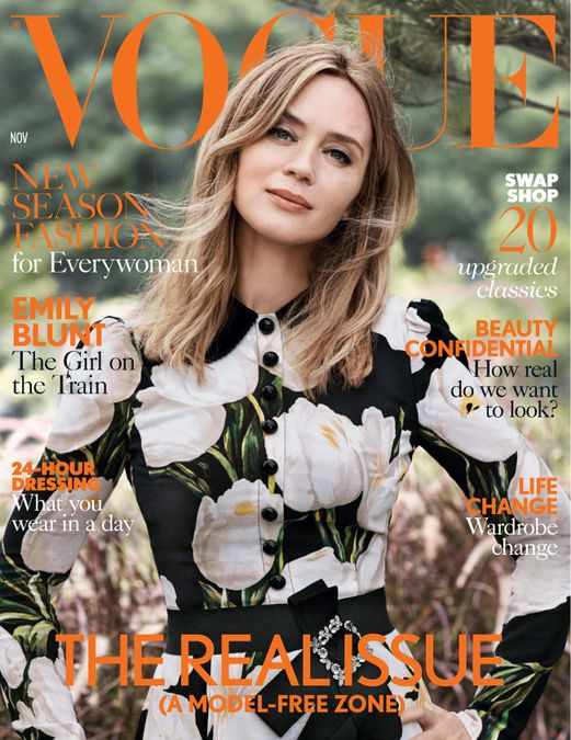British Vogue Cover November 2016