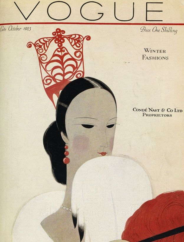 British Vogue Cover October 1923
