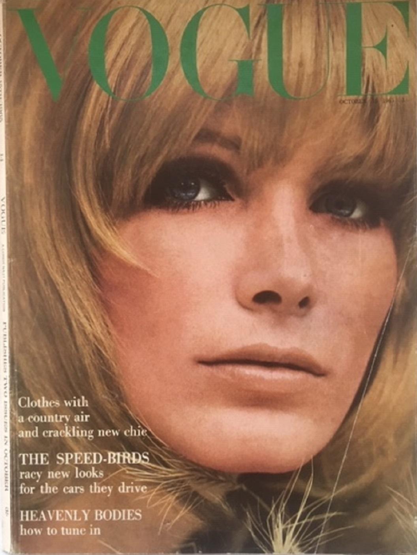 British Vogue Cover October 1965