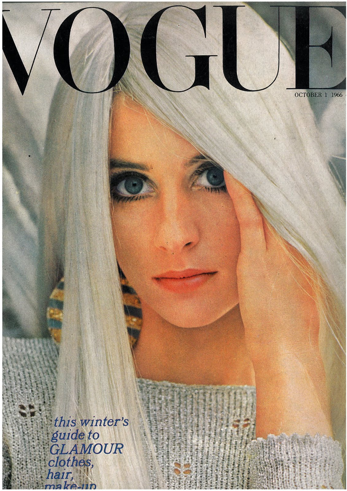 British Vogue Cover October 1966