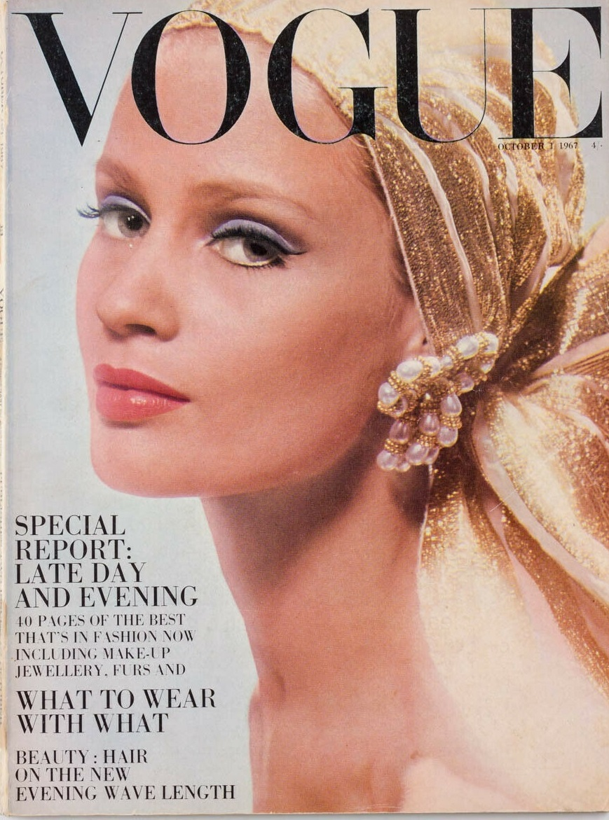British Vogue Cover October 1967