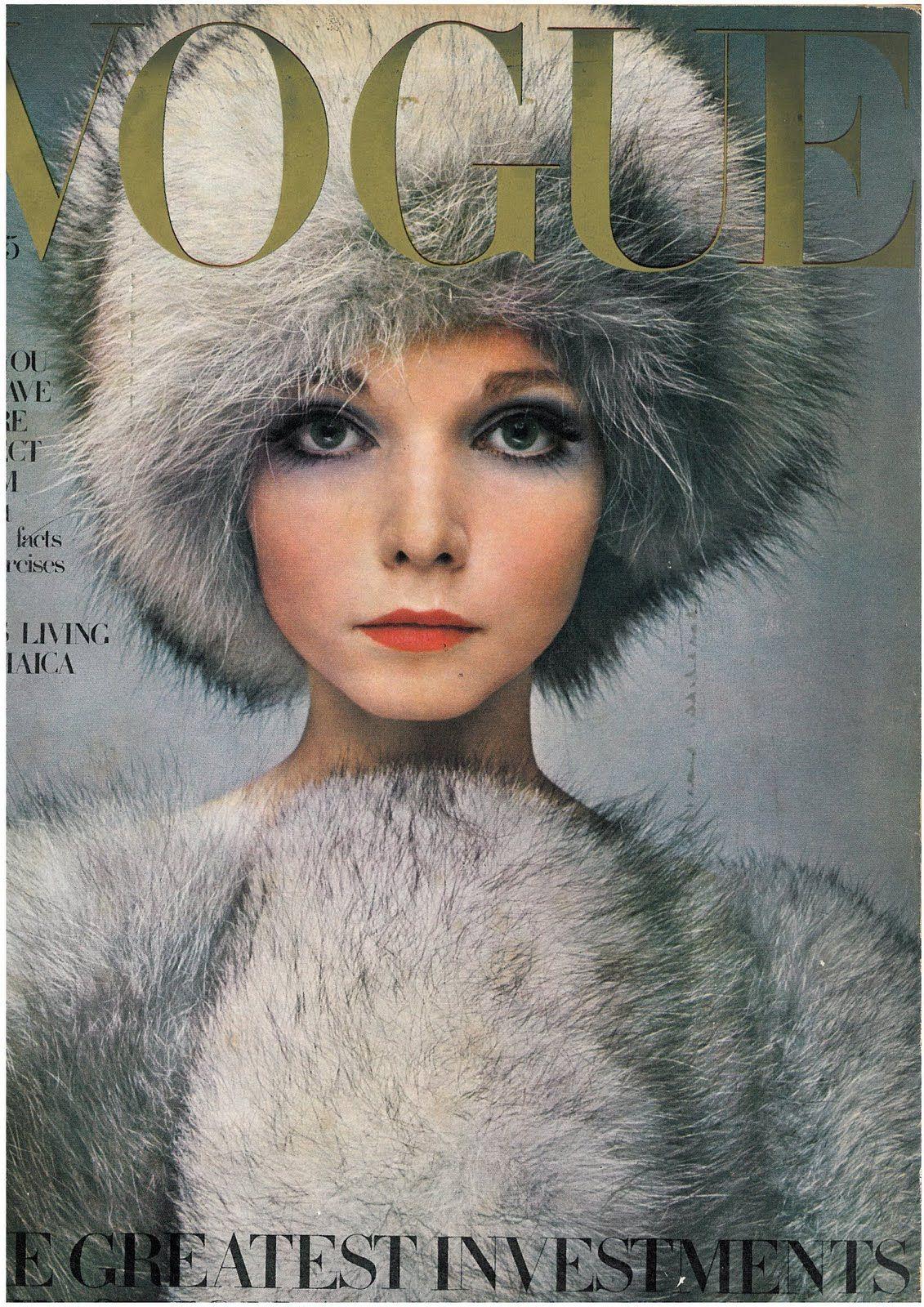 British Vogue Cover October 1968