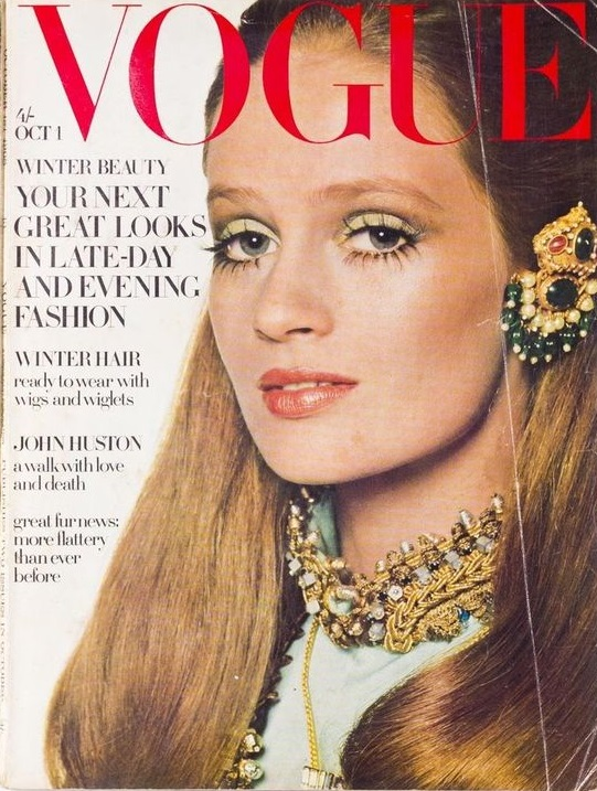 British Vogue Cover October 1968