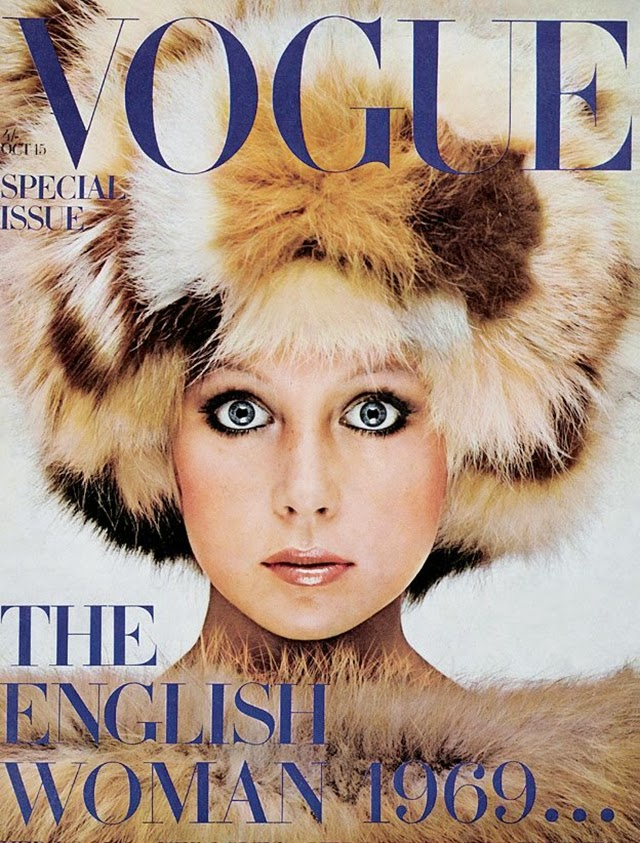 British Vogue Cover October 1969