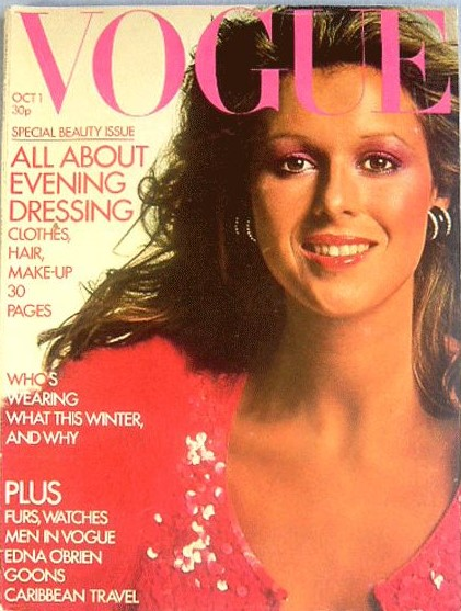 British Vogue Cover October 1972