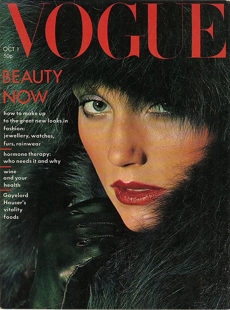 British Vogue Cover October 1975