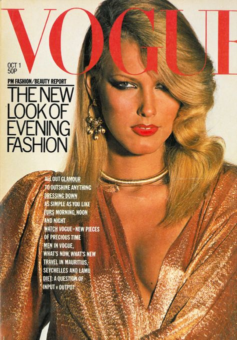 British Vogue Cover October 1976