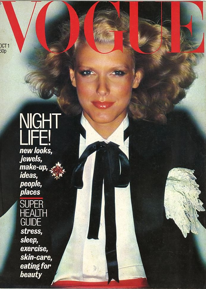 British Vogue Cover October 1977