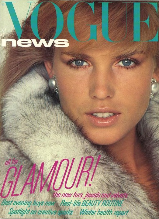 British Vogue Cover October 1981