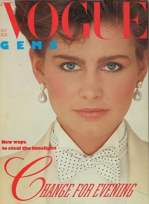 British Vogue Cover October 1982