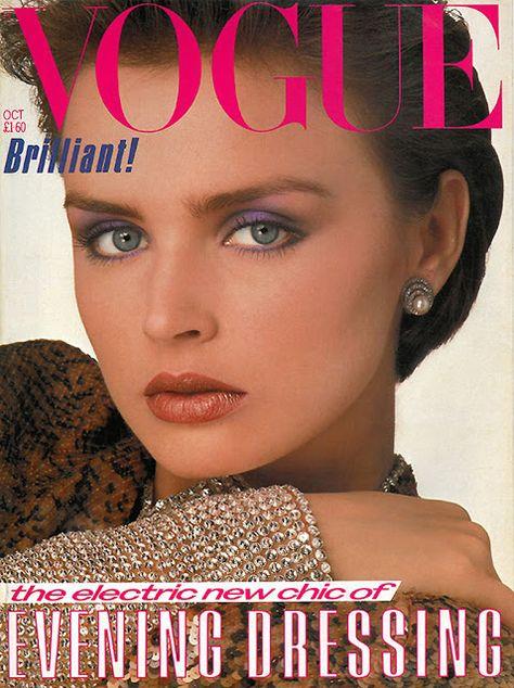 British Vogue Cover October 1983