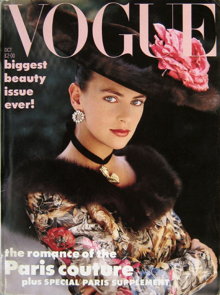 British Vogue Cover October 1987