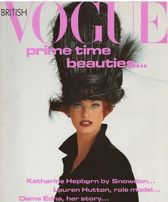 British Vogue Cover October 1991