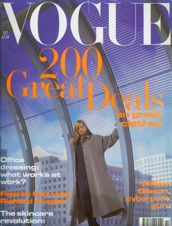 British Vogue Cover October 1993