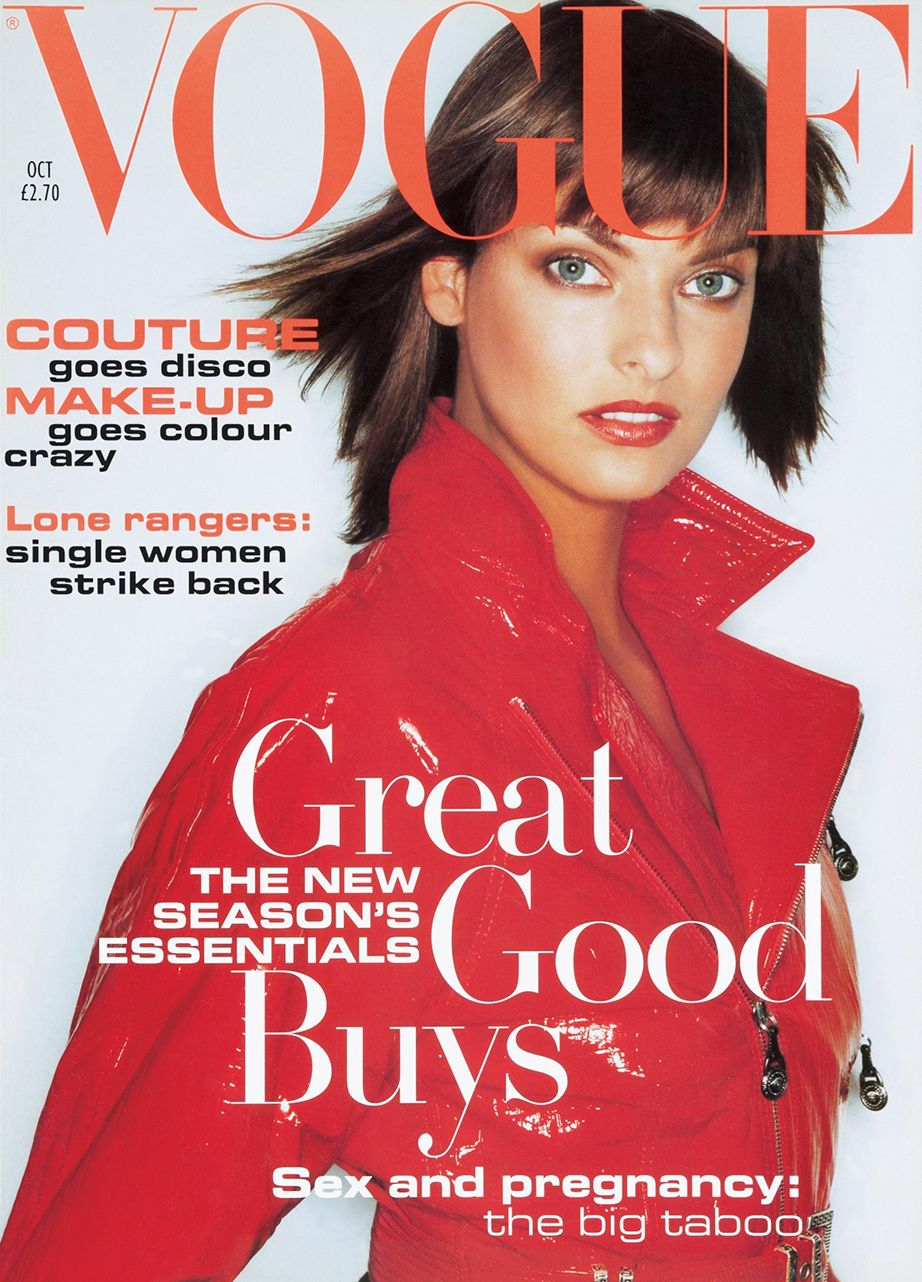 British Vogue Cover October 1994