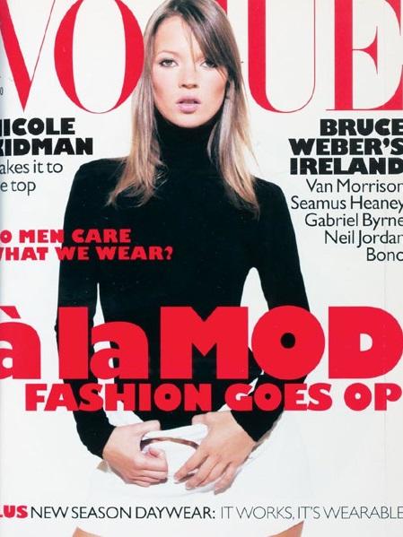 British Vogue Cover October 1995
