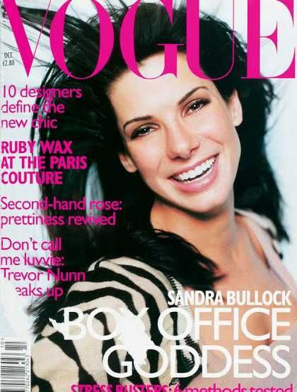 British Vogue Cover October 1996