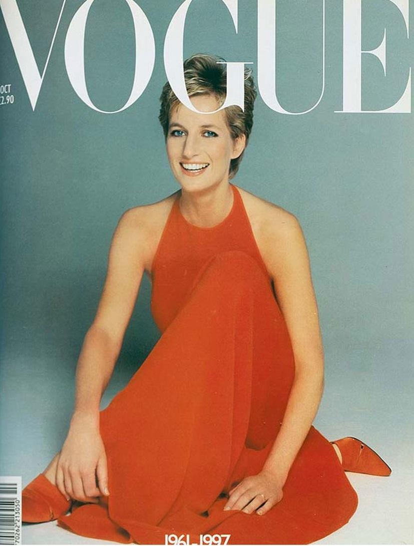 British Vogue Cover October 1997