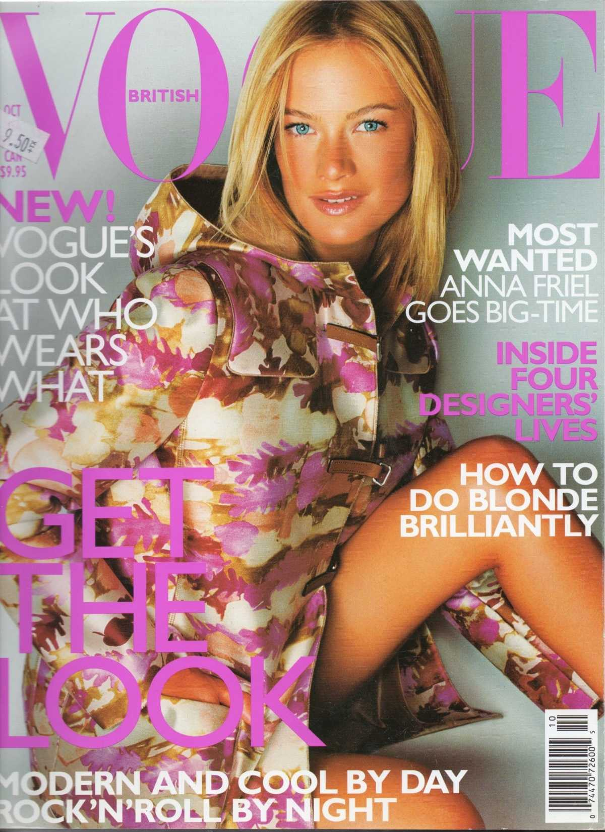 1159 British Vogue Covers – History of Fashion (Images)