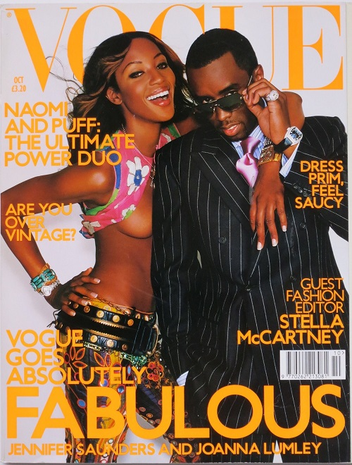 British Vogue Cover October 2001