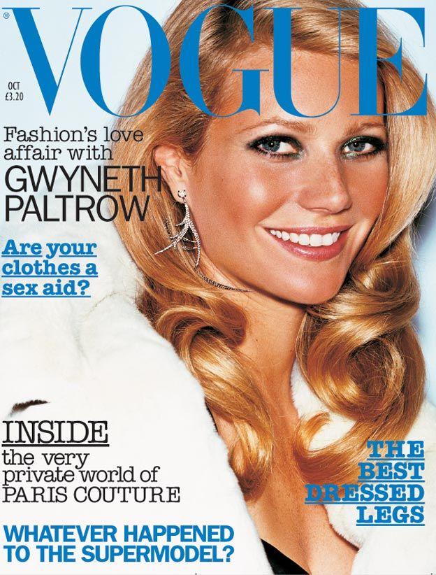 British Vogue Cover October 2002