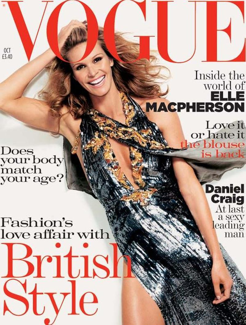 British Vogue Cover October 2004