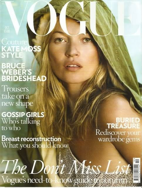 British Vogue Cover October 2008