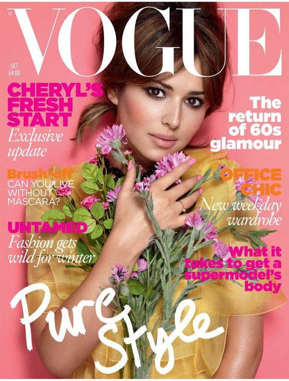 British Vogue Cover October 2010
