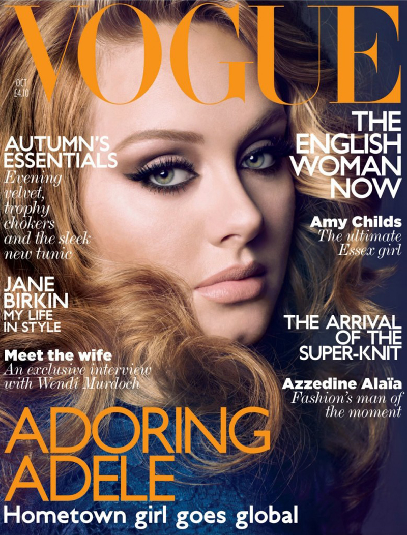 British Vogue Cover October 2011