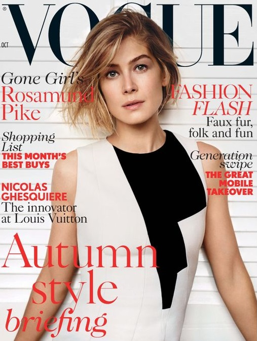 British Vogue Cover October 2014