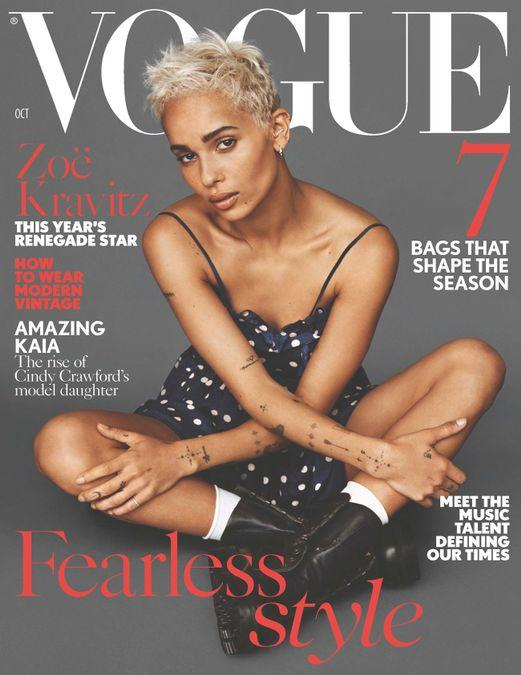 British Vogue Cover October 2017
