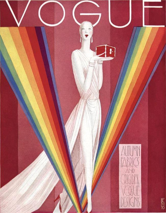 British Vogue Cover September 1926