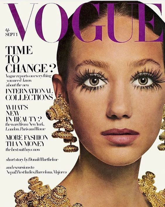 British Vogue Cover September 1968