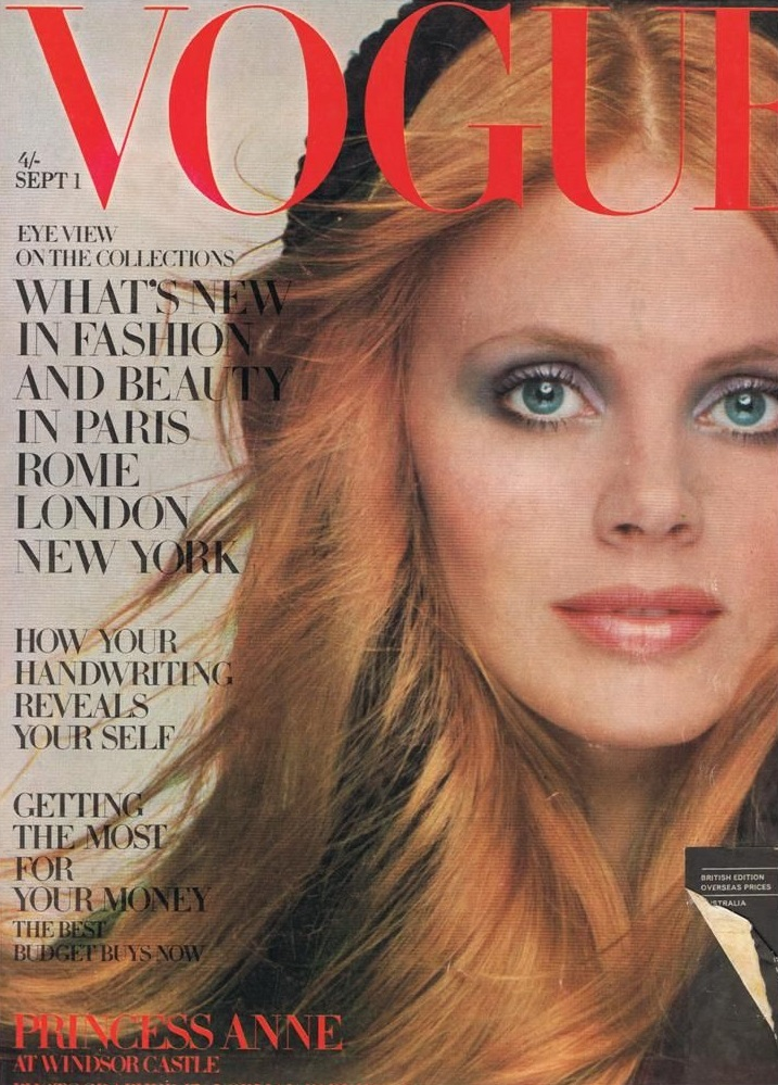 British Vogue Cover September 1969