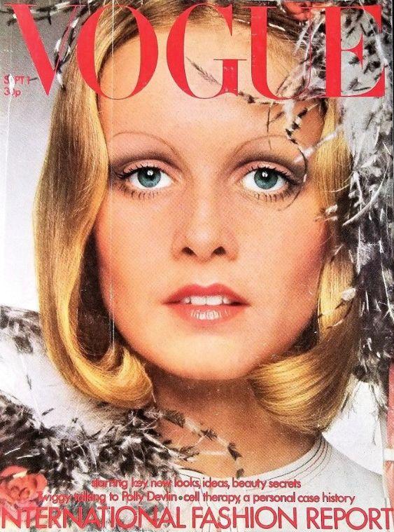 British Vogue Cover September 1972