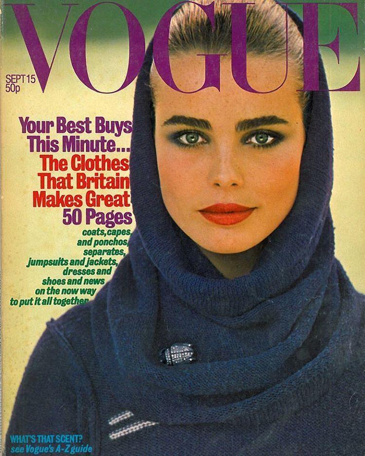 British Vogue Cover September 1976
