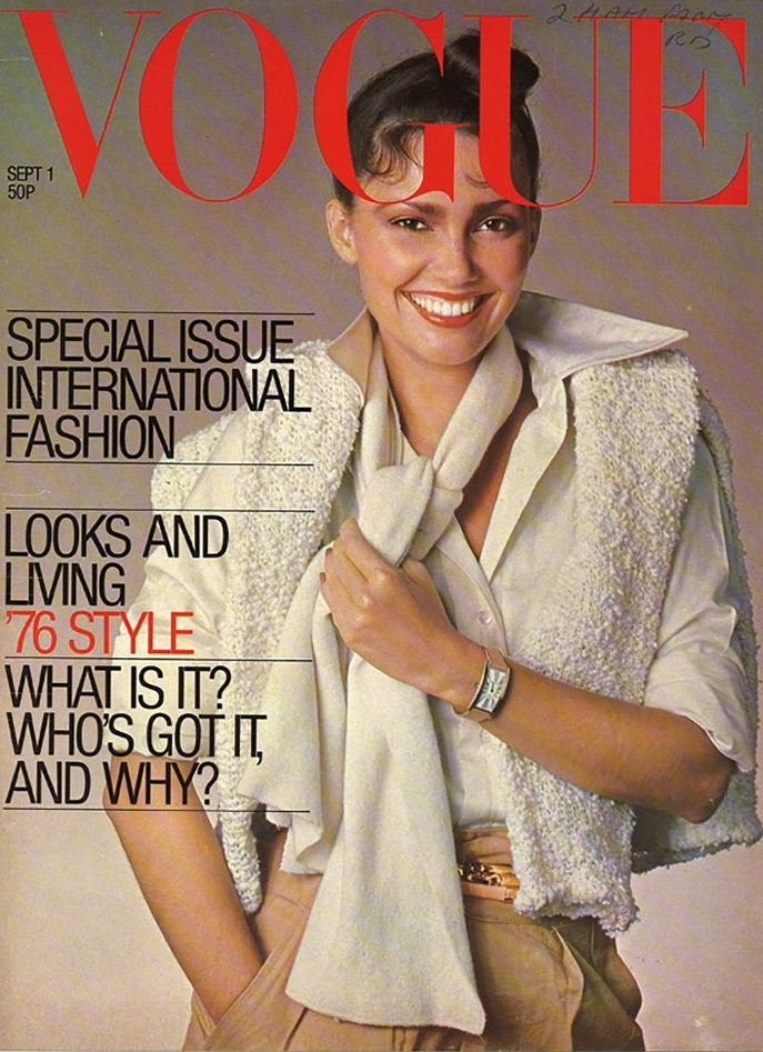 British Vogue Cover September 1976