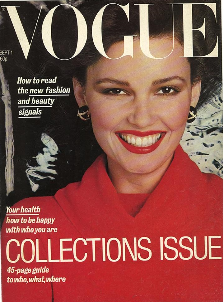 British Vogue Cover September 1977