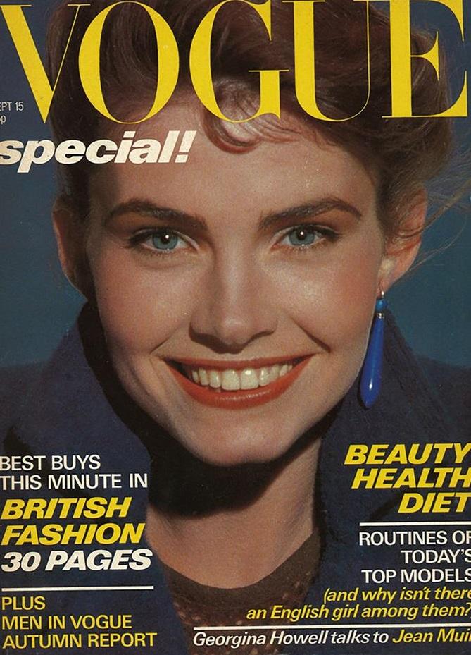 British Vogue Cover September 1978
