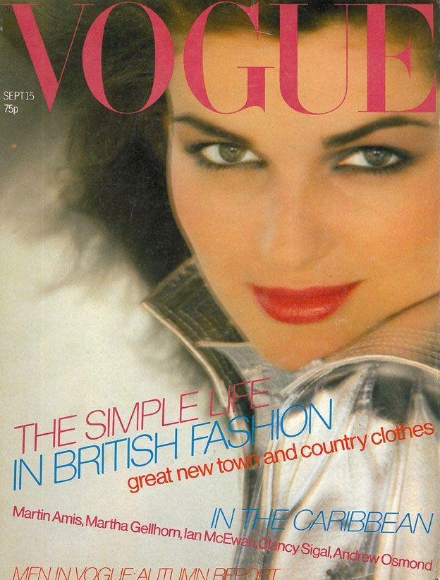 British Vogue Cover September 1979