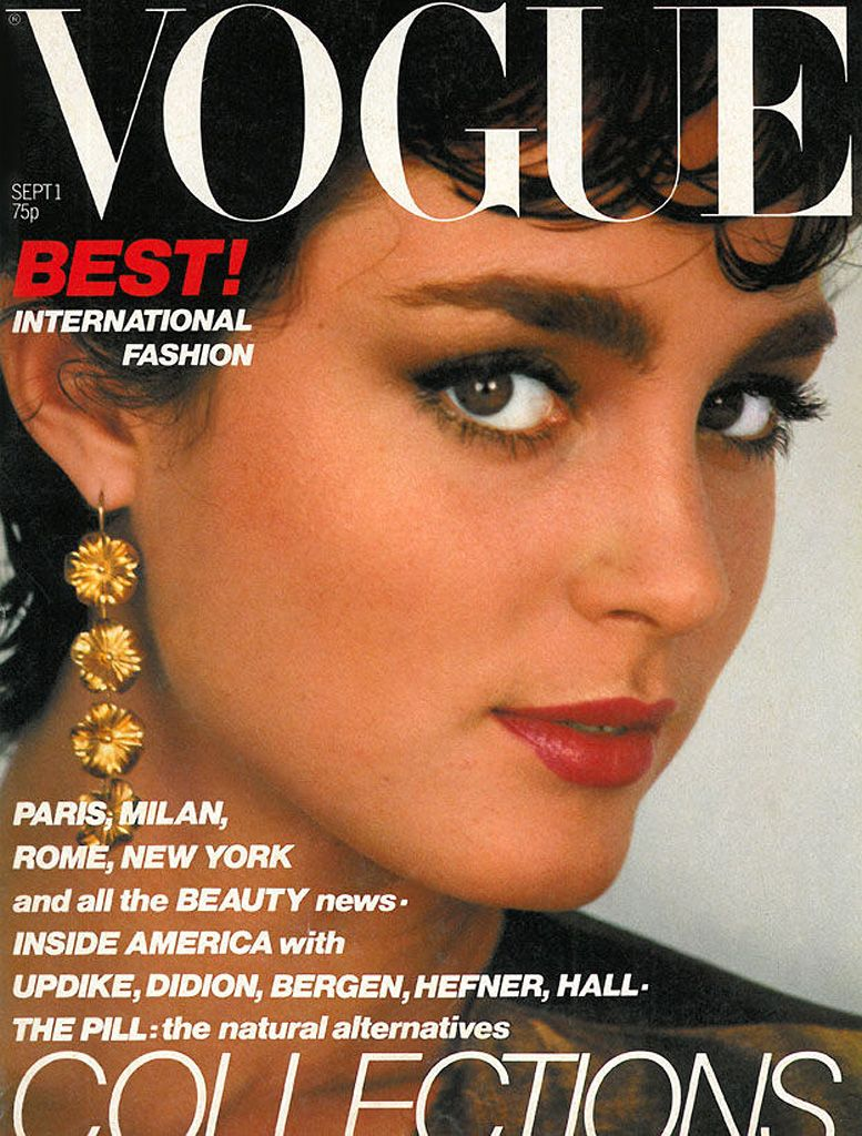British Vogue Cover September 1979