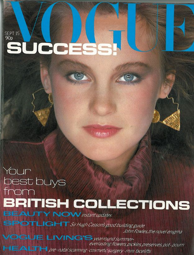 British Vogue Cover September 1980