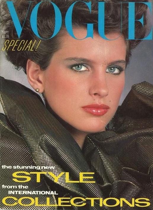 British Vogue Cover September 1982