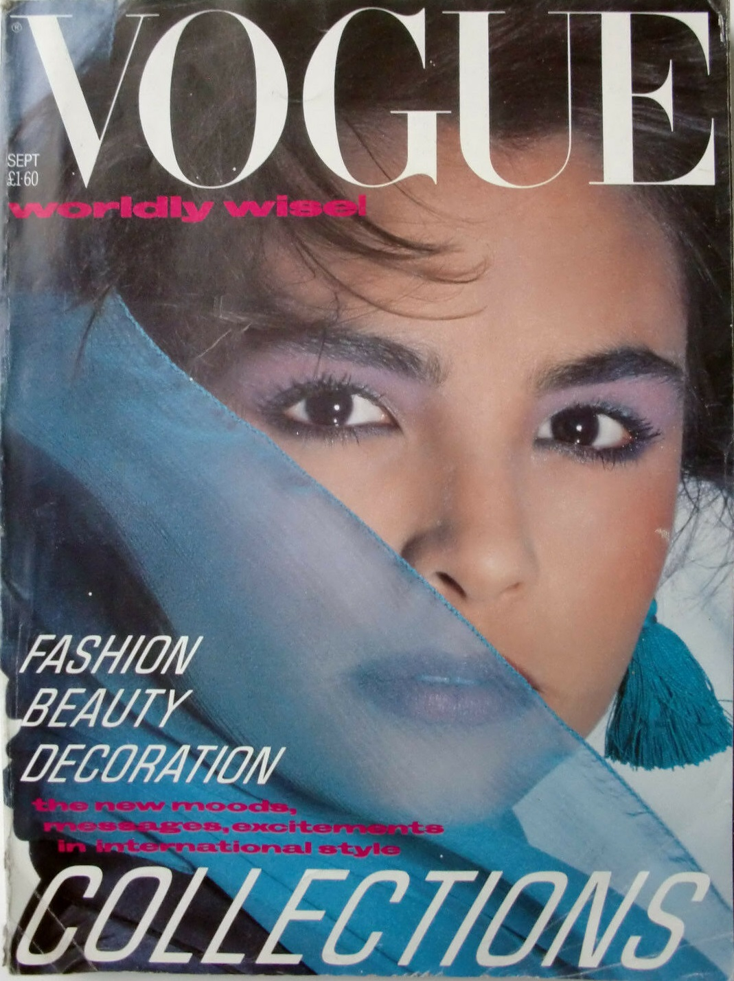 British Vogue Cover September 1984