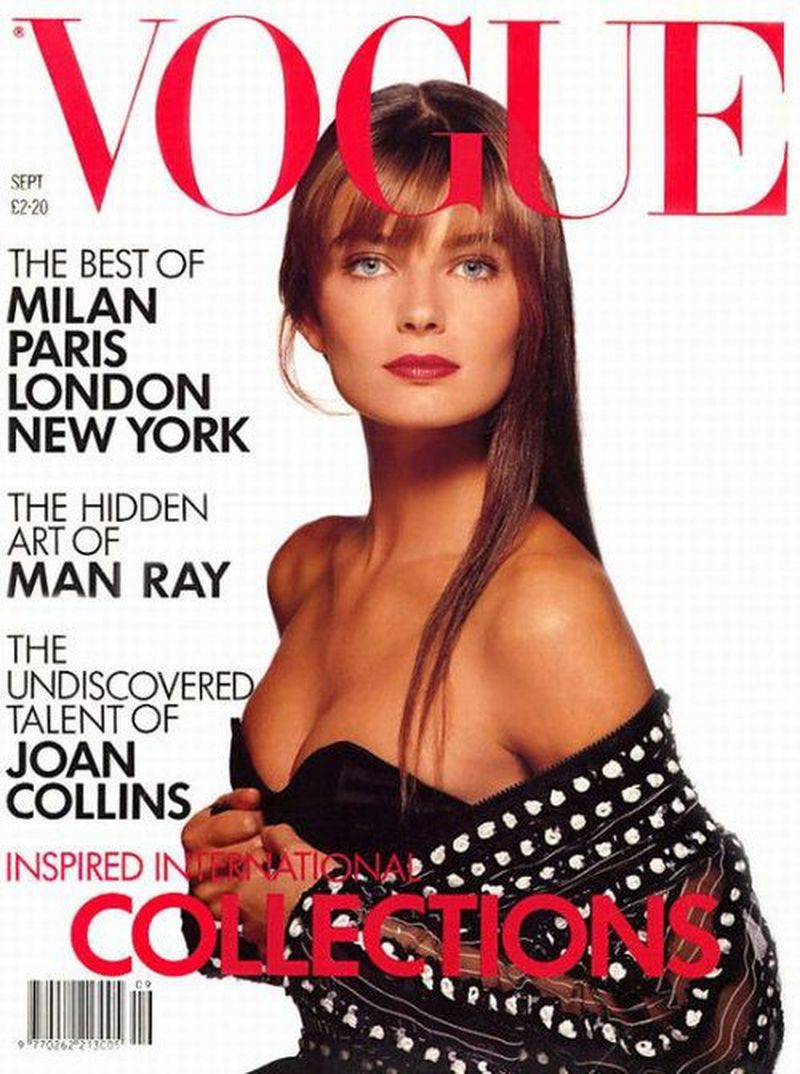 British Vogue Cover September 1988