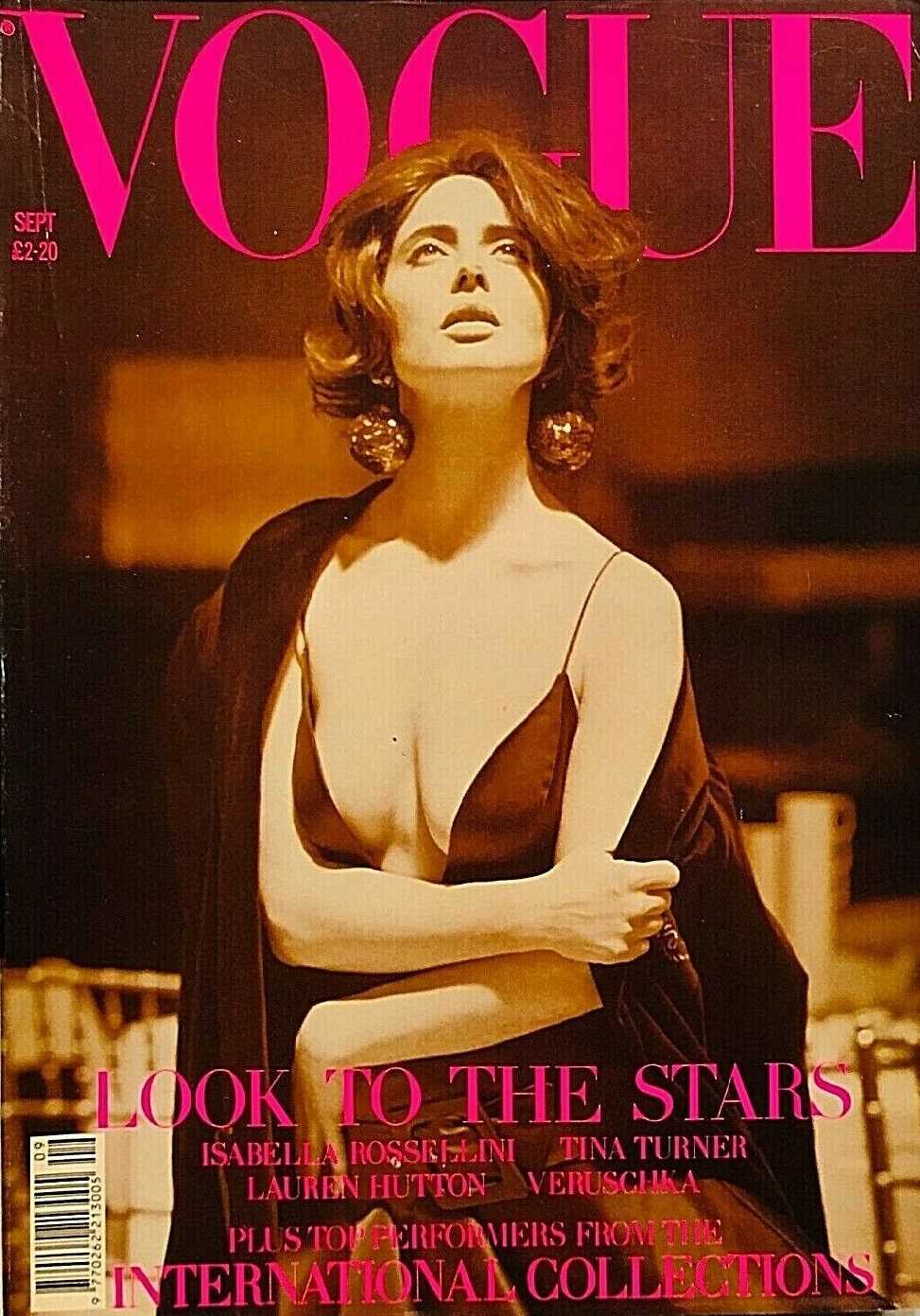 British Vogue Cover September 1989