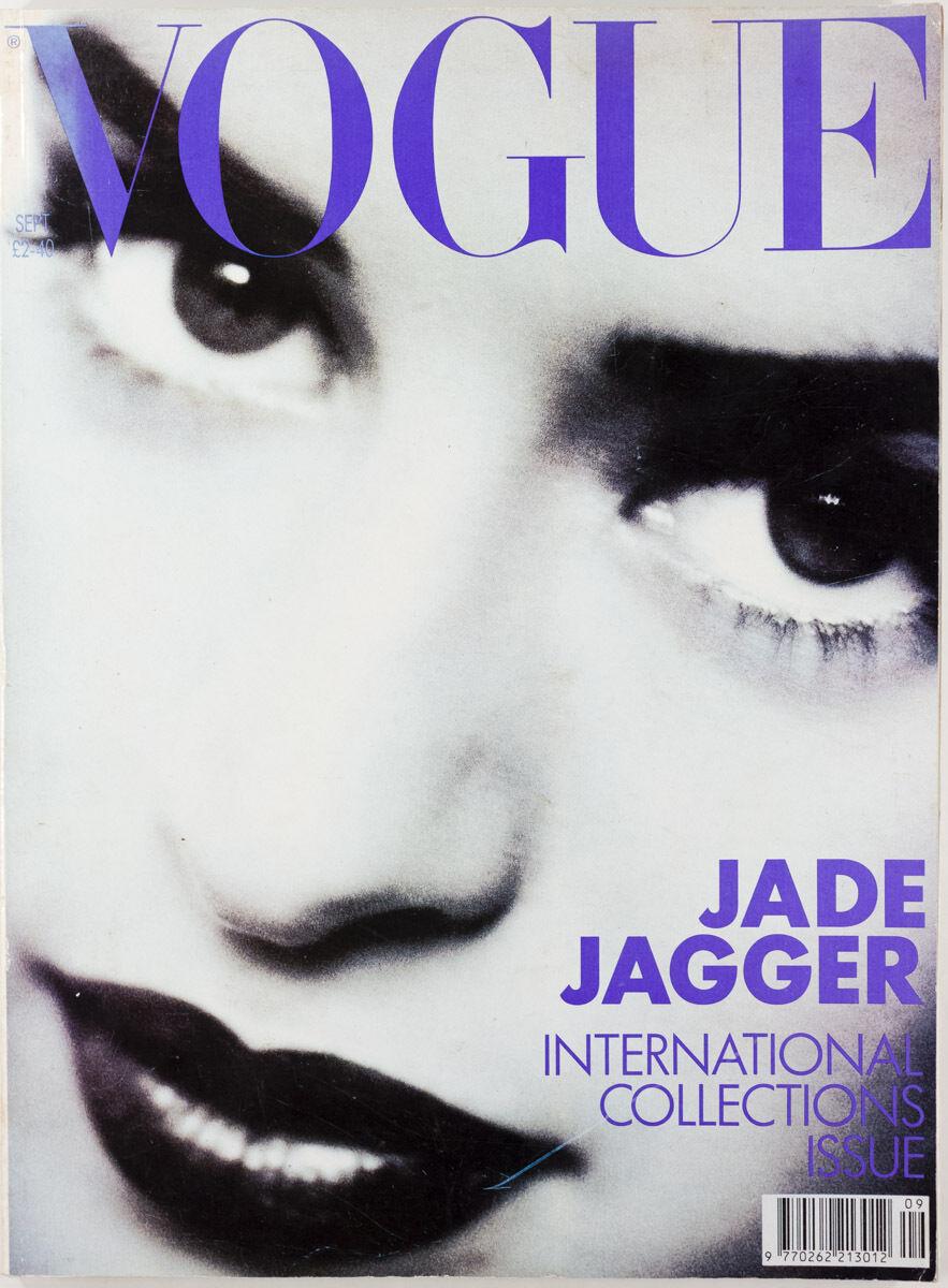British Vogue Cover September 1990